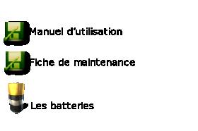 Les batteries